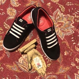 Keds Black Canvas Sneakers
